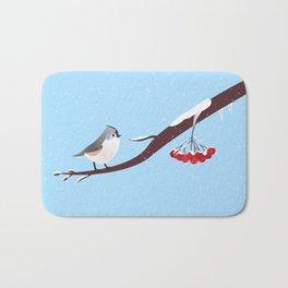 AFE Bird on a branch Bath Mat