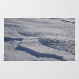 Sparkling Snow Rug