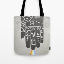 Poster Project   Hospitality Hand Tote Bag