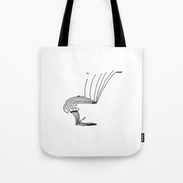 Lines That Fall Tote Bag