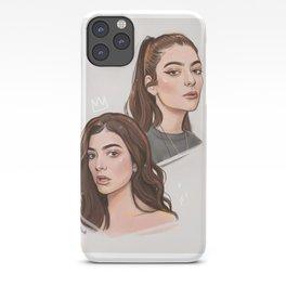 L digital portraits iPhone Case