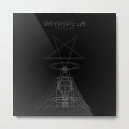 Metropolis unveiled Metal Print