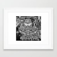 pacific rim Framed Art Prints featuring Pacific Rim by Walid Aziz