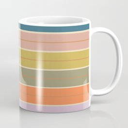 Pastel Stripes Coffee Mug