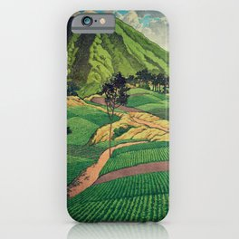 Crossing people's land in Iksey iPhone Case