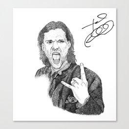 Jared Padalecki Canvas Print