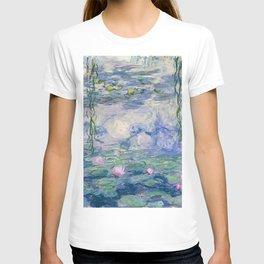 """Claude Monet """"Water Lilies(Nymphéas)"""" (9) 1916–19.jpg T-shirt"""