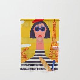 I Love Paris Wall Hanging