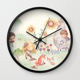 Forrest Garden Wall Clock
