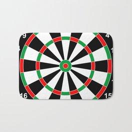darts game board classic target  Bath Mat