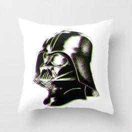 Dot Vader Throw Pillow