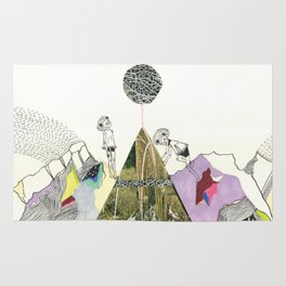 Climbers - Cool Kids Climb Mountains Rug