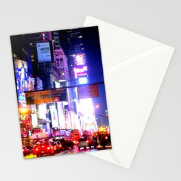colors on pavement Stationery Cards