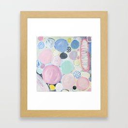 Mixed Lollies Abstract Framed Art Print