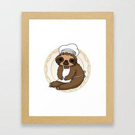 Slow Cooker Framed Art Print