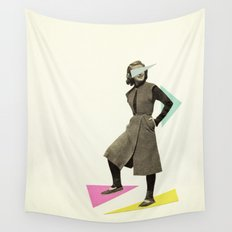 Shapely Figure Wall Tapestry