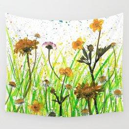 Flower Field Wall Tapestry