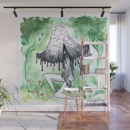 Empire of Mushrooms: Coprinopsis Atramentaria Wall Mural