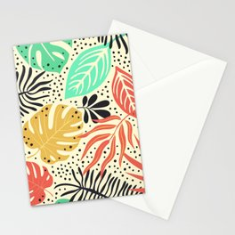 Tropical 6 Stationery Cards