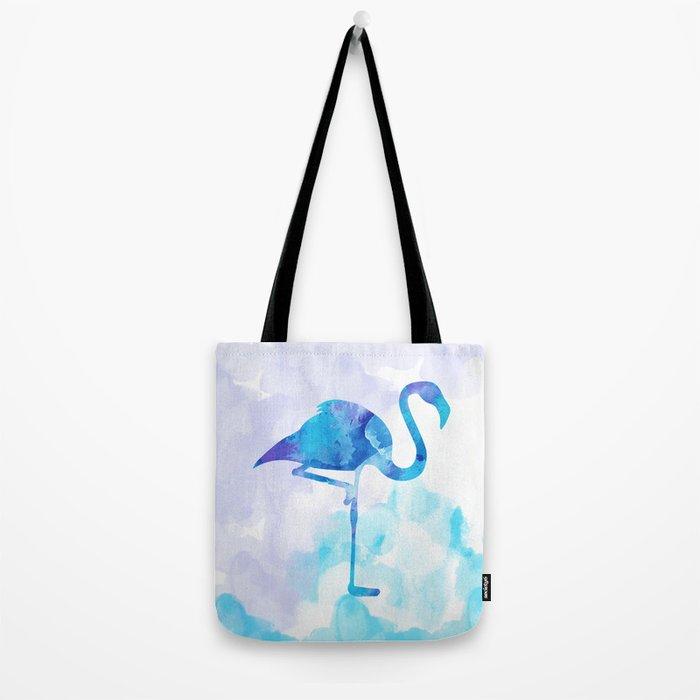 Abstract Flamingo Tote Bag