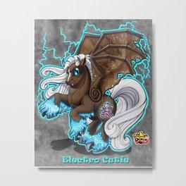 Electro Cutie Metal Print