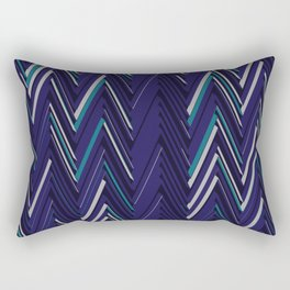 Abstract Chevron Rectangular Pillow