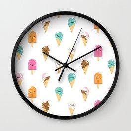 Summer Delights Wall Clock