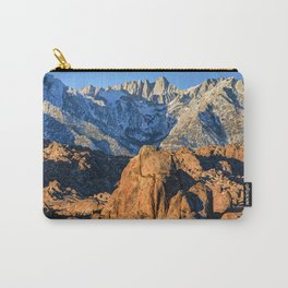 Sierra Nevada Mountains And Alabama Hills Sunrise Carry-All Pouch
