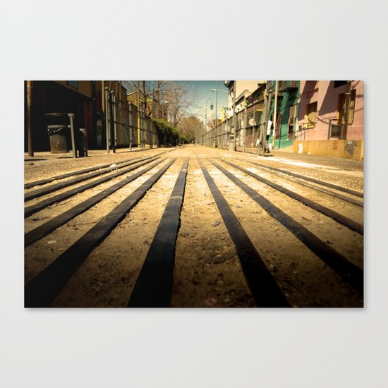 Train Line Canvas Print