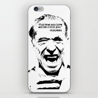 bukowski iPhone & iPod Skins featuring Charles Bukowski Quote Love by Fligo