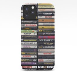 Old 80's & 90's Hip Hop Tapes iPhone Case