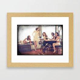The Golden Era Framed Art Print
