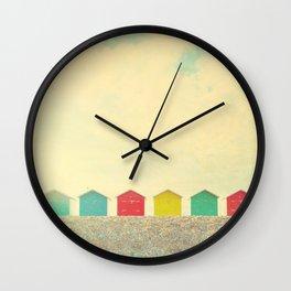 Beachfront Wall Clock
