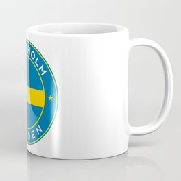 Sweden, Stockholm, circle Coffee Mug