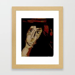 Feels Like Monday Framed Art Print
