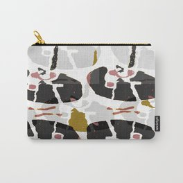 Abstract Mechanical Carry-All Pouch