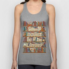 Go to the library Unisex Tank Top