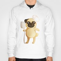 chef Hoodies featuring Chef Pug by Feeliżanka★