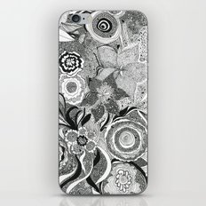 Going With The Flow[er] iPhone & iPod Skin
