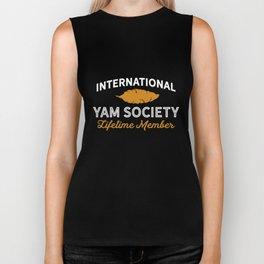International Yam Society Lifetime Member Biker Tank