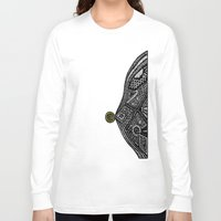 vampire diaries Long Sleeve T-shirts featuring PacMan Diaries by Lauren Moore