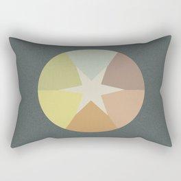 Off-Aligned Babbitt Star Rectangular Pillow