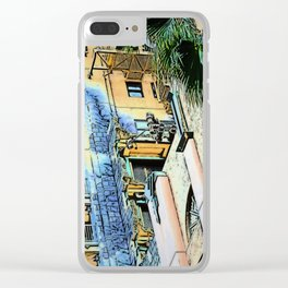 Holywood Hotel - Tower of terror Clear iPhone Case
