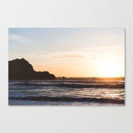 Sutro Baths at sunset Canvas Print