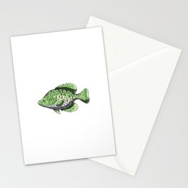 Have A Crappie Day Funny Crappies Fishing Quote Gift Stationery Cards