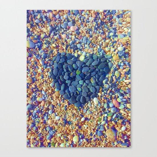 Hard Heart / 19-08-16 Canvas Print