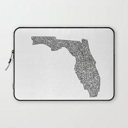 Florida Map Laptop Sleeve