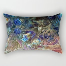 Currents 1 (Abstract Dachshund) Rectangular Pillow