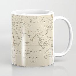 Vintage Map of The World (1794) Coffee Mug