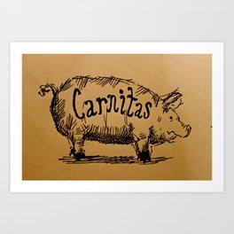 Carnitas  Art Print